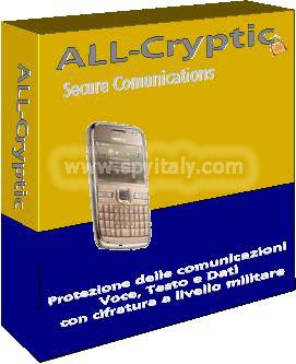 ALL-CRYPTIC - Software per rendere le comunicazioni voce e dati sicure