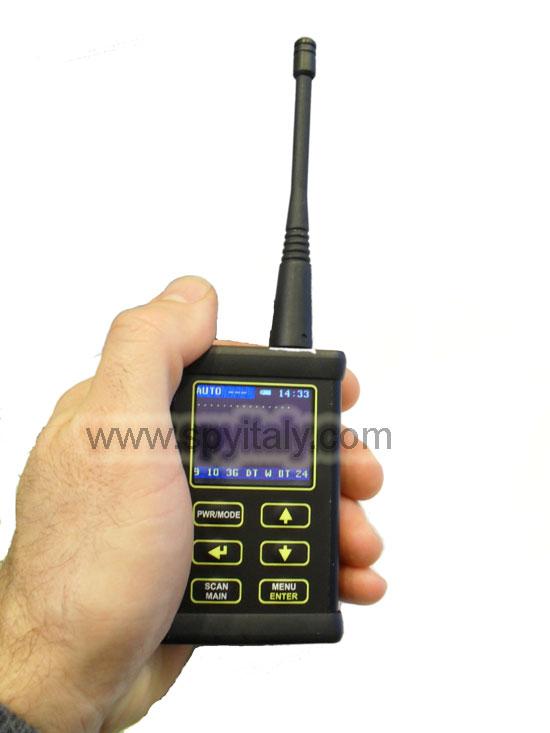 CSA-2400 - Analizzatore di spettro per bonifica elettronica