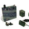 KIT-LA4 - Trasmettitore ambientale a batteria e trasmettitore telefonico con ricevitore 2 canali