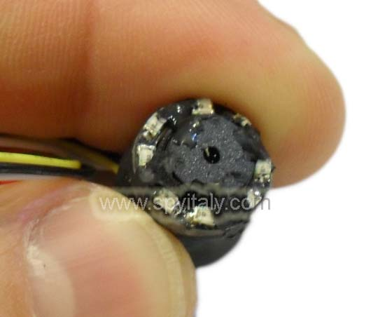 M13-IR-PH - Microcamera sensore CMOS con LED IR ultraminiaturizzata