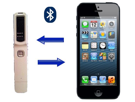 BT-REC-NEW - Microregistratore vocale per registrazioni ambientali e telefoniche su iPhone e Smartphone