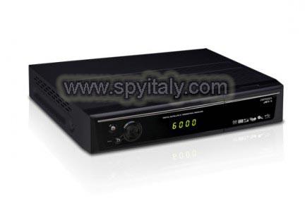 DVBT-DVR - Videoregistratore con microcamera occultato in un decoder digitale terrestre
