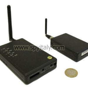KIT-AV-HR - Sistema trasmissione e ricezione abbinato a microcamera