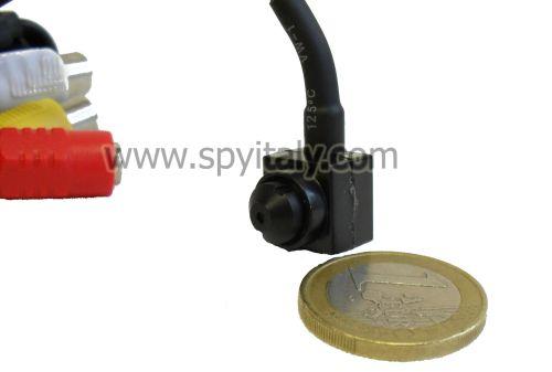 M12-OS-DN - Microcamera CCD colori Day&Night ottica Pinhole