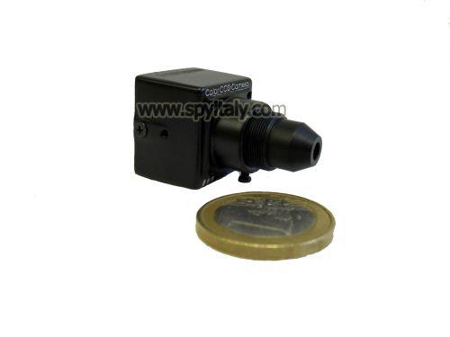 M20-COL-H10 - Microcamera CCD colori ottica Pinhole zoom