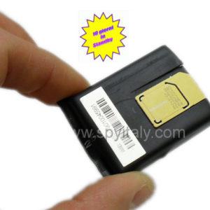 MICRO-GSM - Microtrasmettitore ambientale GSM con risposta automatica batteria al litio lunghissima durata