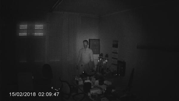 SPY-TRAP - esempio buio totale